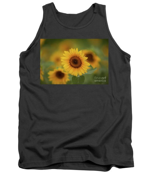Patch Of Sunflowers Tank Top