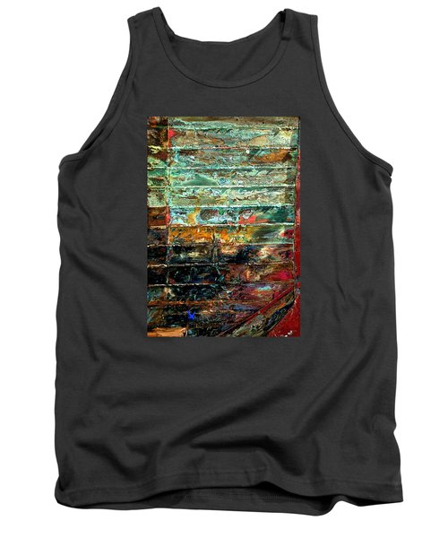 Tank Top featuring the photograph Patchworks 1 by Newel Hunter