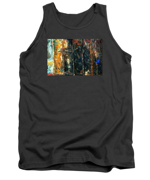 Tank Top featuring the photograph Patchworks 5 by Newel Hunter