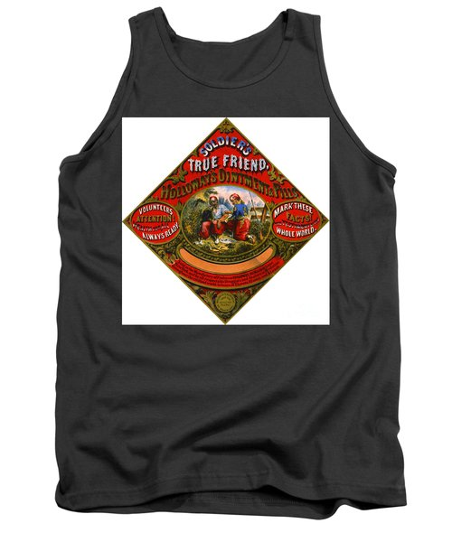 Tank Top featuring the photograph Patent Medicine Label 1862 by Padre Art