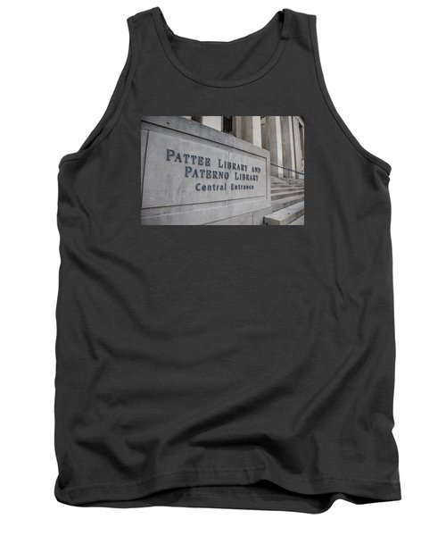 Paterno Library At Penn State  Tank Top by John McGraw