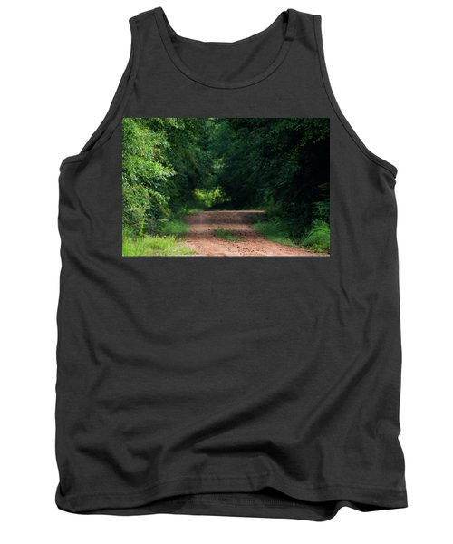 Tank Top featuring the photograph Path Of Light Horizontal by Shelby Young