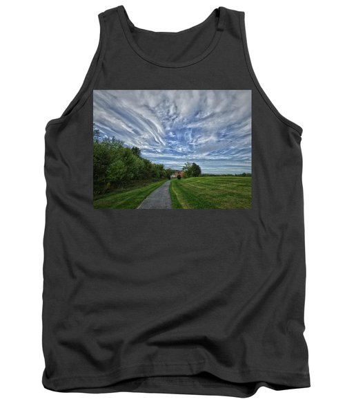 Path Tank Top by Robert Geary