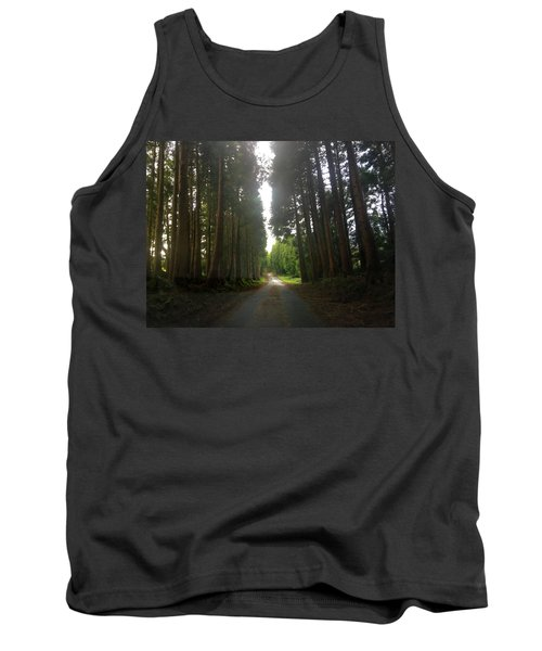 Path Through The Woods Tank Top