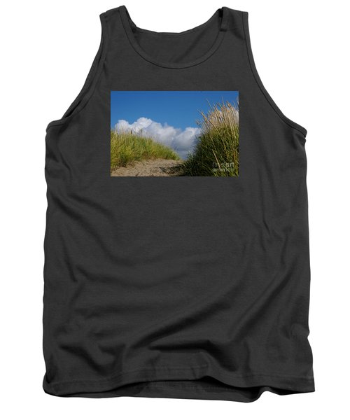 Tank Top featuring the photograph Path To The Beach by Jeanette French