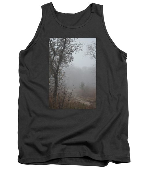Tank Top featuring the photograph Pathway In The Fogs Of Life by Carolina Liechtenstein