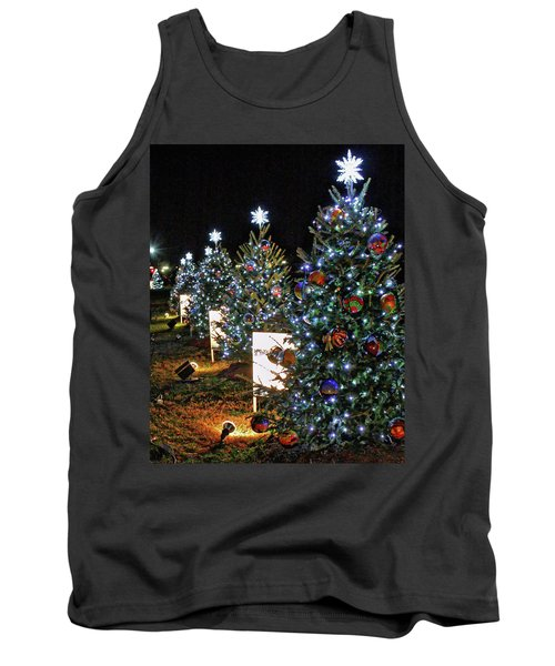 Pathway Of Peace Tank Top by Suzanne Stout