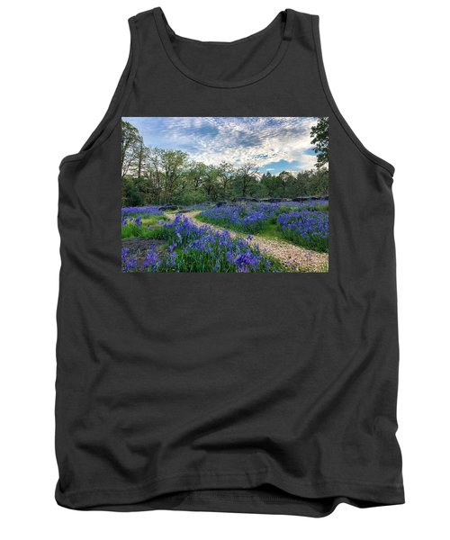 Pathway Through The Flowers Tank Top