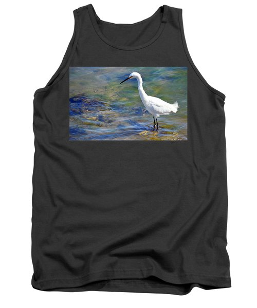 Patient Egret Tank Top