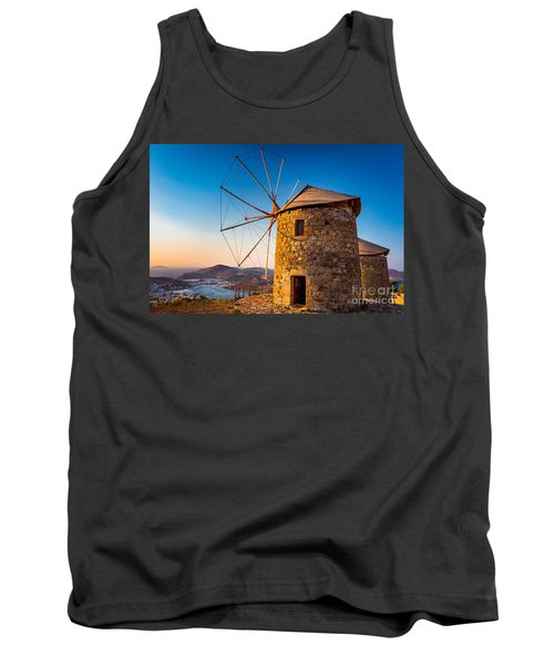 Patmos Windmills Tank Top