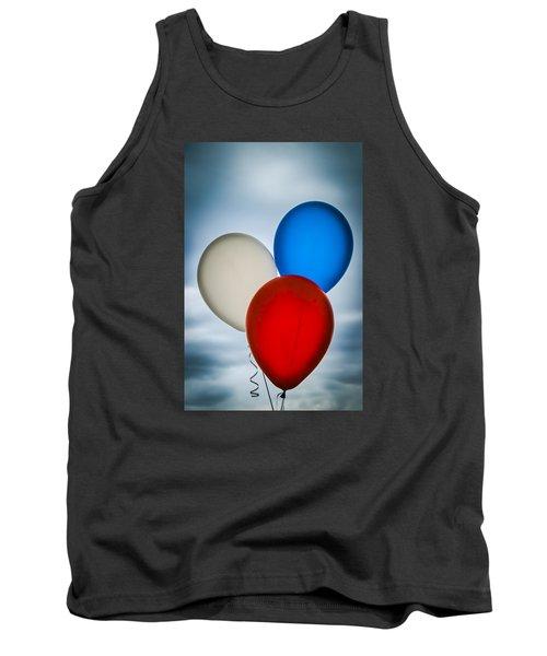 Patriotic Balloons Tank Top by Carolyn Marshall