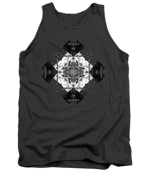 Pattern In Black White Tank Top