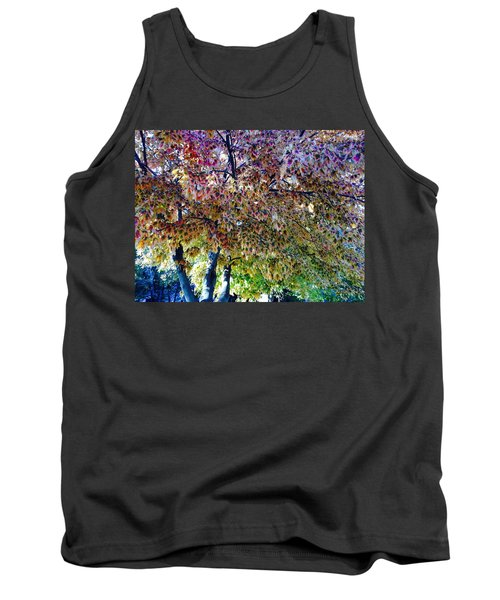 Patterned Metamorphosis Tank Top