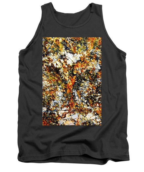 Tank Top featuring the photograph Patterns In Stone - 207 by Paul W Faust - Impressions of Light