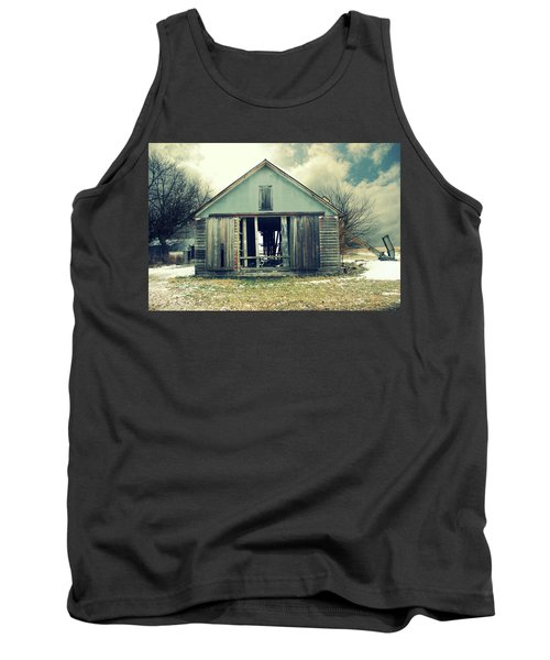 Tank Top featuring the photograph Paulsons Crib by Julie Hamilton
