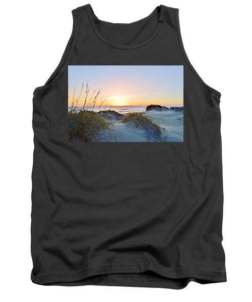 Pea Island Sunrise 12/28/16 Tank Top