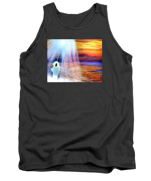 Peace Be With You Tank Top by Patricia L Davidson