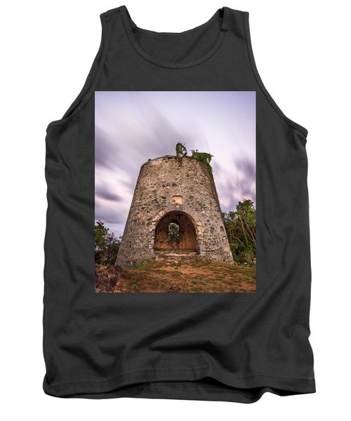 Tank Top featuring the photograph Peace Hill Sugar Mill by Adam Romanowicz