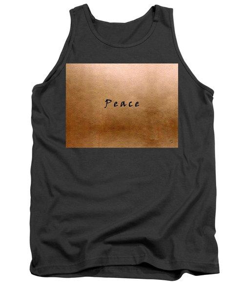 Peace Tank Top