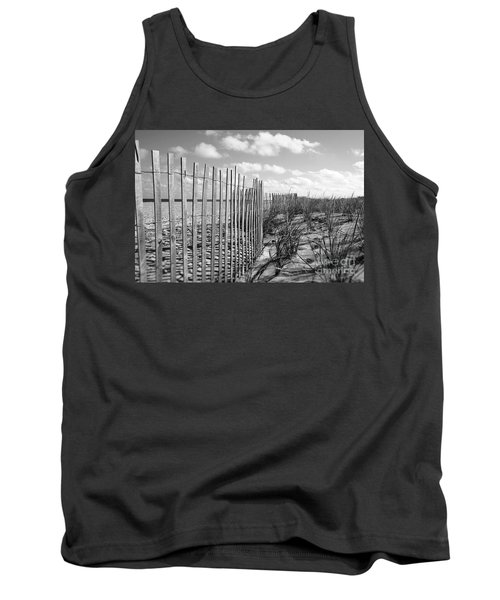 Peaceful Beach Scene Tank Top by Denise Pohl