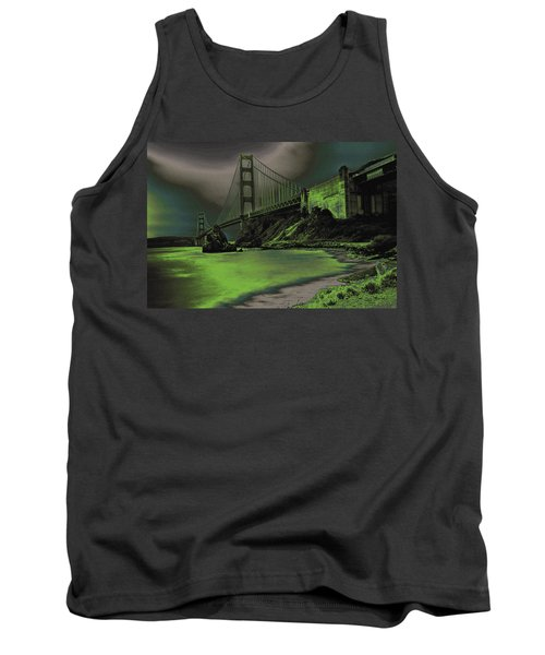 Peaceful Eerie Feeling Tank Top