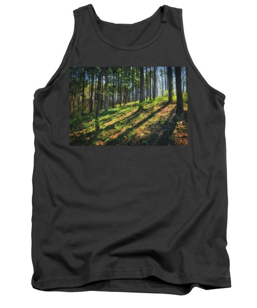 Peaceful Forest 4 - Spring At Retzer Nature Center Tank Top by Jennifer Rondinelli Reilly - Fine Art Photography