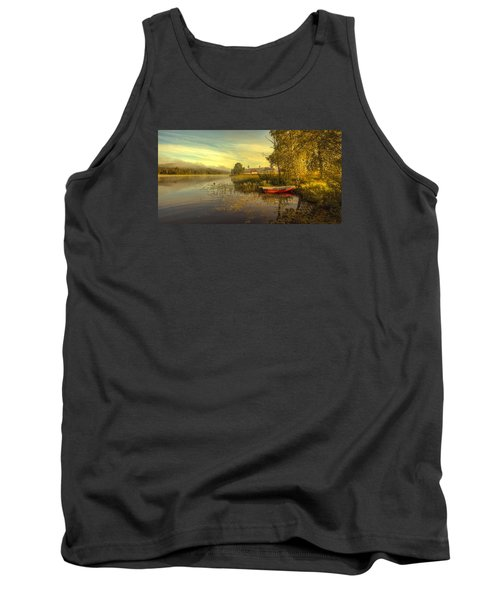 Tank Top featuring the photograph Peaceful Morning by Rose-Maries Pictures