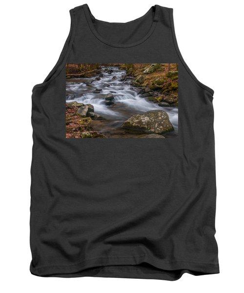 Peaceful Mountain Stream Tank Top