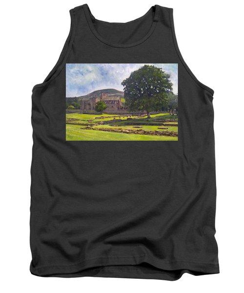 Peaceful Retreat - Melrose Abbey  Tank Top