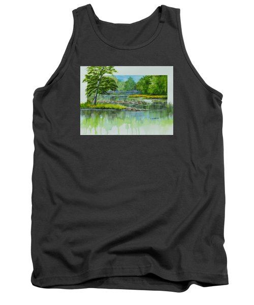 Peaceful River Tank Top