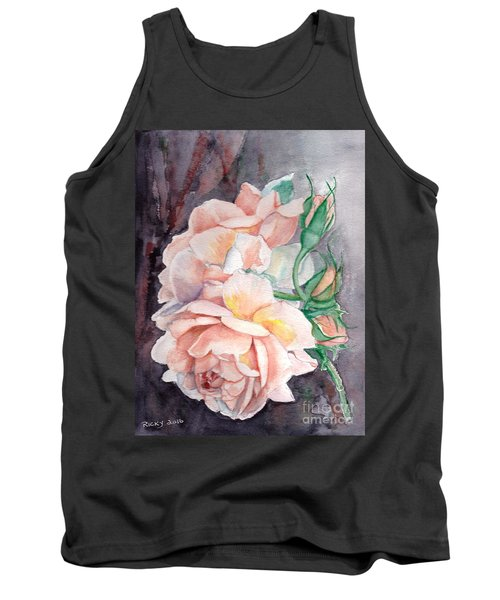 Peach Perfect - Painting Tank Top