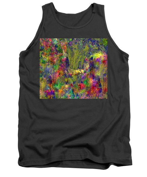 Peacock Feathers Tank Top