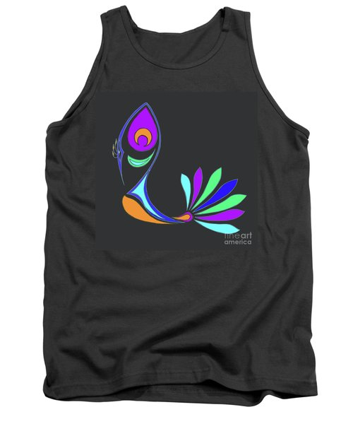 Peacock Impressions Tank Top