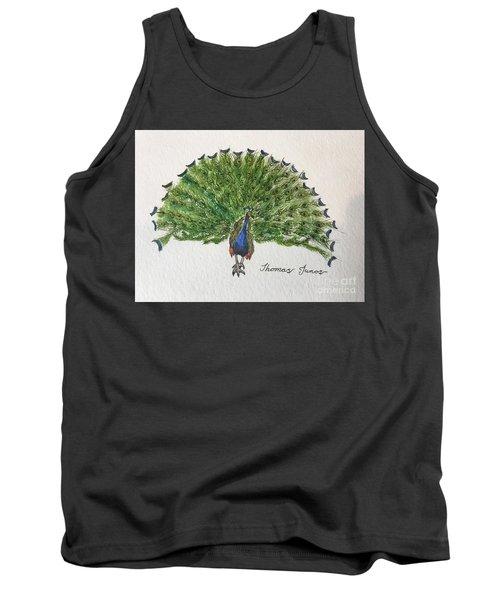 Peacock Tank Top