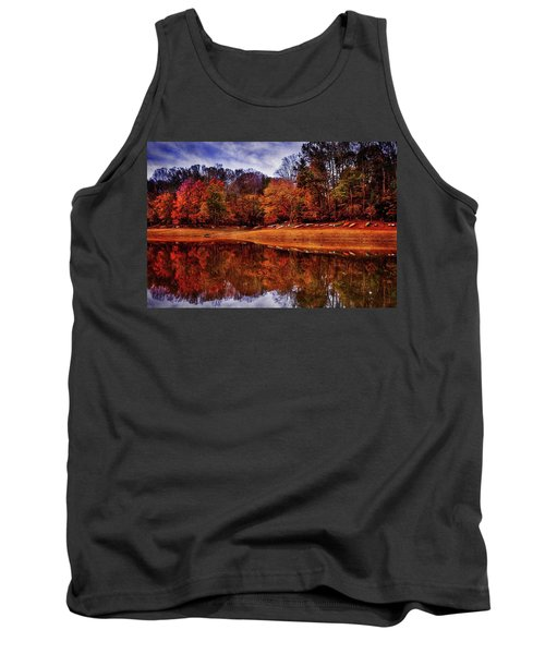 Tank Top featuring the photograph Peak? Nope, Not Yet by Edward Kreis