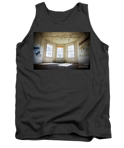 Tank Top featuring the photograph Pealing Walls by Randall Cogle