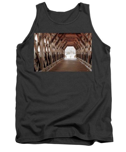 Pedestrian Lattice Bridge Tank Top