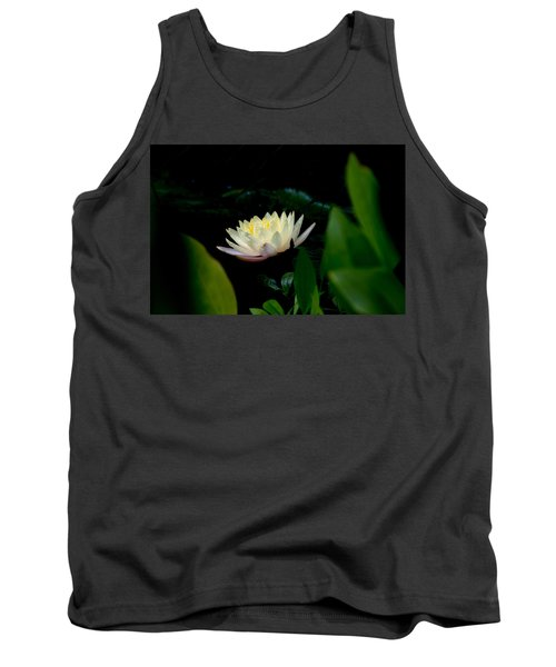 Peekaboo Lemon Water Lily Tank Top