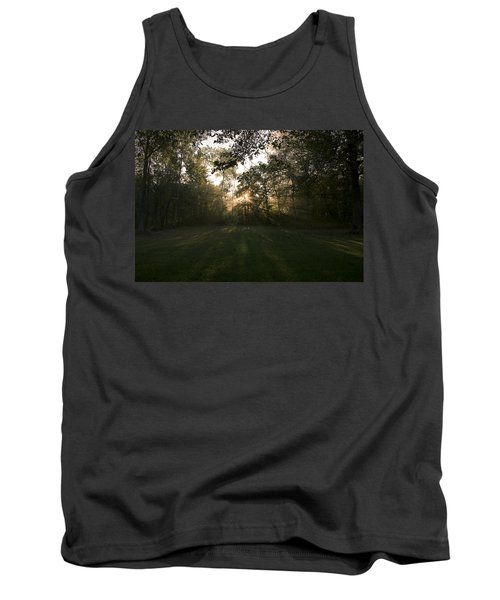 Tank Top featuring the photograph Peeking Through by Annette Berglund