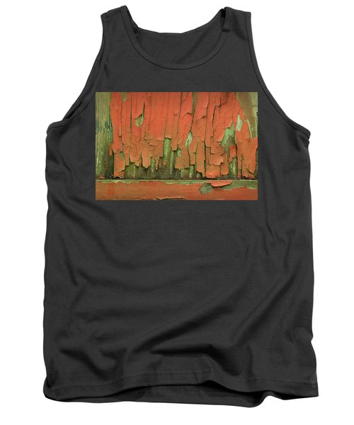 Tank Top featuring the photograph Peeling 4 by Mike Eingle