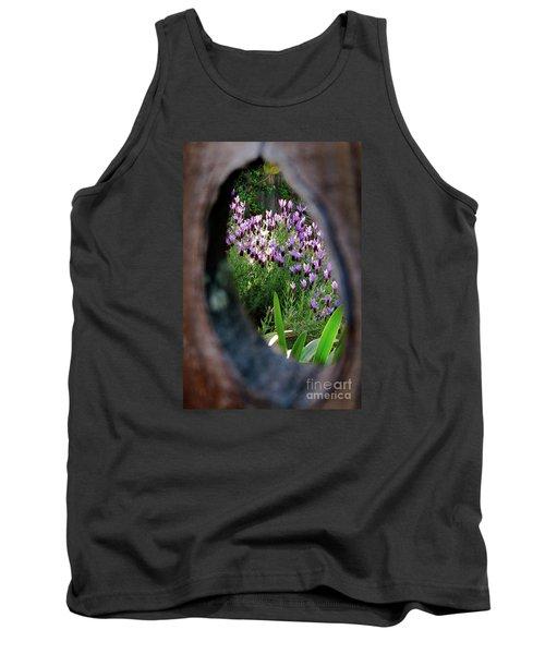Peephole Garden Tank Top