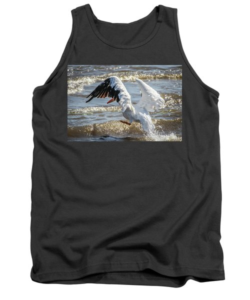 Pelican Jump Tank Top by Ray Congrove