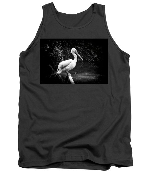 Tank Top featuring the photograph Pelican by Traven Milovich
