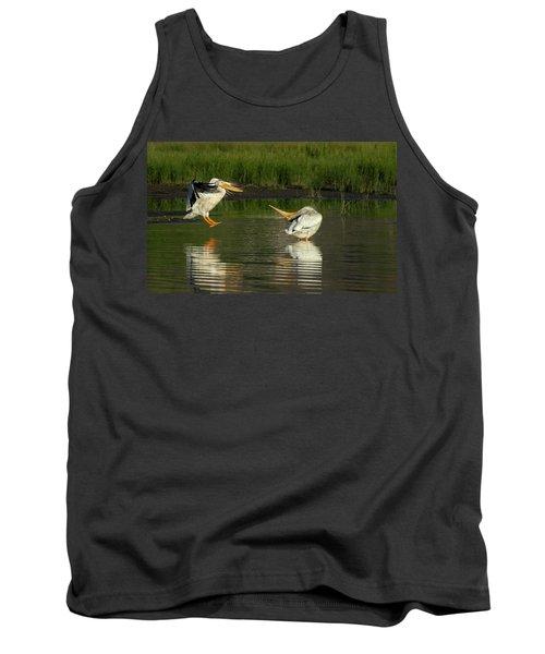 Pelicans 2 Tank Top