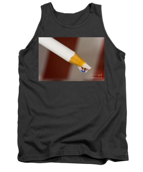 Pencil Flag Drop Tank Top