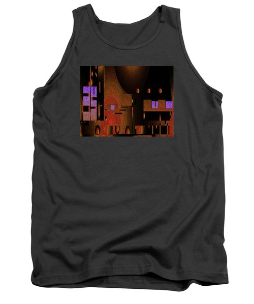Tank Top featuring the painting Penman Original-252 by Andrew Penman