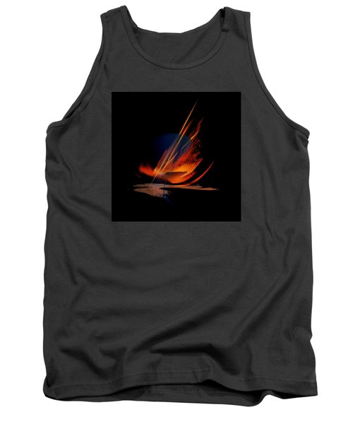 Tank Top featuring the painting Penman Original-335 by Andrew Penman