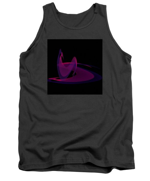 Tank Top featuring the painting Penman Oriiginal-290-intimacy by Andrew Penman
