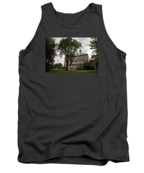 Penn State Old Main And Tree Tank Top by John McGraw