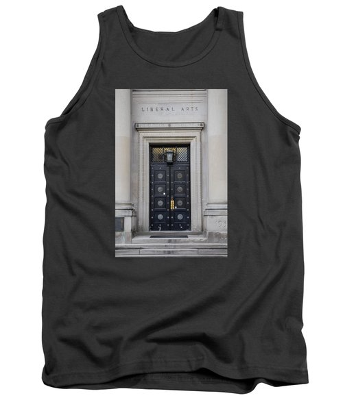 Penn State University Liberal Arts Door  Tank Top